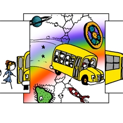 XKCD meets Magic School Bus.