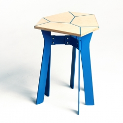 The xylem project is neither a table, a bench or  a stool; it's a family of objects which can be co-designed by the clients, using a custom built software, to best suit their needs and tastes.