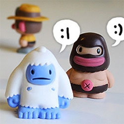 Spelunky Minis Blindboxes by Derek Yu - i love the Yeti! The cute characters from the award-winning XBLA game Spelunky have come to life.