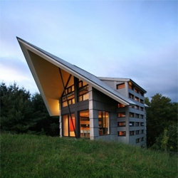 La Cornette country house in Quebec by YH2.