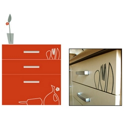 Forgot your fork? Too many drawers?