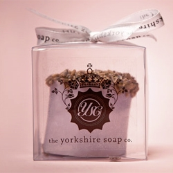 Unexpectedly cute soaps from The Yorkshire Soap Co. with packaging by Madebyanalogue.
