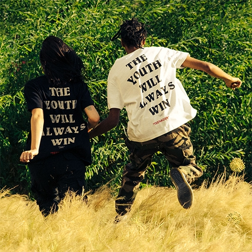 """Off White """"The Youth Will Always Win"""" T-shirt"""