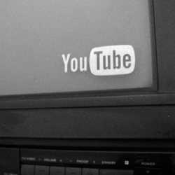 You are addicted to YOU TUBE? … You can not stop watching?…  Sticker + TV = You Tube Addict