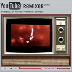 YouTube REMIXER Beta launched ~ you can now have the instant gratification of simple web video editing thanks to Adobe Premiere Express.