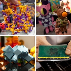 Toy Fair!!! Here's a look at some of our favorite toys discovered that are perfect for grabbing on the go... magnets, turtles, puzzles, knuclestrutz, moose poppers and more!