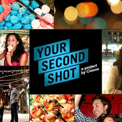 "Your Second Shot is a new project by Canon. They're recapturing real people's ""lost"" moments. Stories from New York to Barcelona."