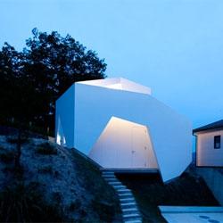 YSY House by AUAU in Seto, Japan.