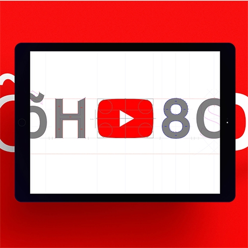 YouTube and Saffron have created YouTube Sans. A font inspired by the play button.