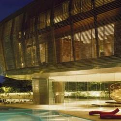 amazing 32,000 sq foot house in kuala lumpur by patrick jouin + sanjit manku