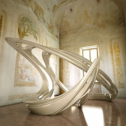 Zaha Hadid Architects will create an installation at Palladio's Villa Foscari near Venice this autumn, to coincide with the Venice Architecture Biennale.