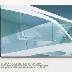 Entitled, Silver Paintings, architect and urban designer, Zaha Hadid will be showcasing her works in a new medium.