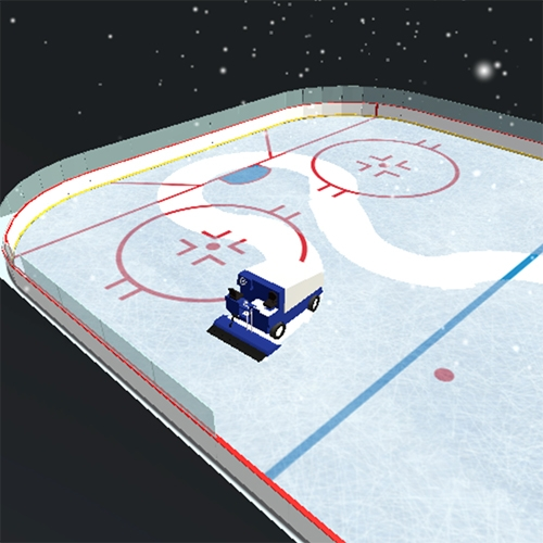 Joe McKay's Zamboni Simulator (aka Ice Resurfacing Machine Simulator)  is strangely calming as you doodle across the ice like an etch-a-sketch...
