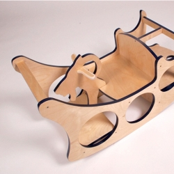 Awesome furniture design by Zeke Leonard, especially the pieces for children.