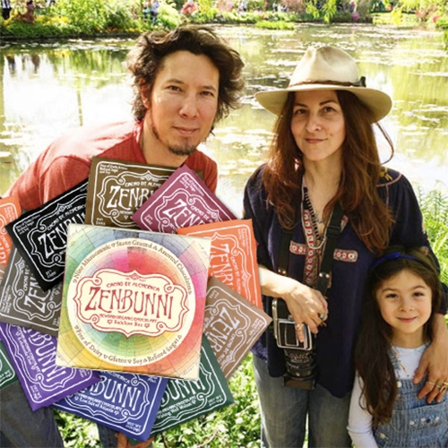 ZenBunni Biodynamic Chocolate - fun interview at Mind Body Green with Zen and Bunni Nishimura about their surprising chocolate story from Topanga to the world, mud lined Venice store, creative approach to business and more!