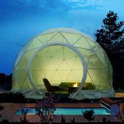 German company Zendome started making exhibitors large domes, now they have produced a home edition.