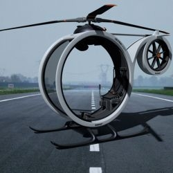 Take a look at Zero helicopter concept by Hector del Amo. This single person vehicle is no ordinary chopper, well it's not a private jet, but it does the job in a very cool way.