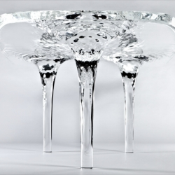Zaha Hadid's 'Liquid Glacial': The Ice Table Cometh.