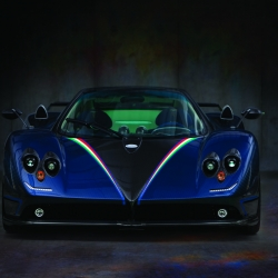 The Pagani Zonda Cinque Tricolore will be unveiled at the Geneva Motor Show as a one-off special edition of the world's most exclusive hyper-exotic.