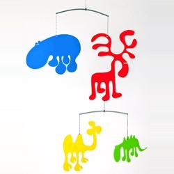 'Zoo' mobile by Eero Arnio.