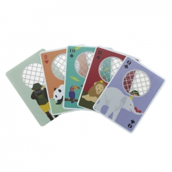Sweet Zoo Playing Cards designed by IDEA international.
