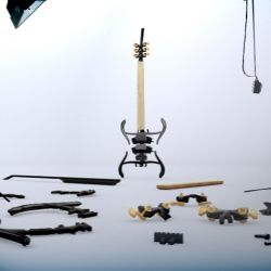 Zoybar is a modular hardware kit for creating custom electric string instruments and effects by its users.