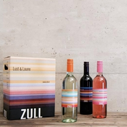 Erwin Bauer has redesigned Zulls graphic profile and some of their wine bottles. Playful design for something stiff and serious as Austrian wine.