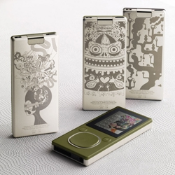 """A group of 18 artists (including famous Barcelona artist Catalina Estrada) have produced 27 unique designs called the Artist Series for the Zune Originals store."""