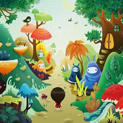 The wonderful world of Russian Illustrator Zutto arrives at ClickforArt.